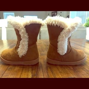 Toddler Fur Boots